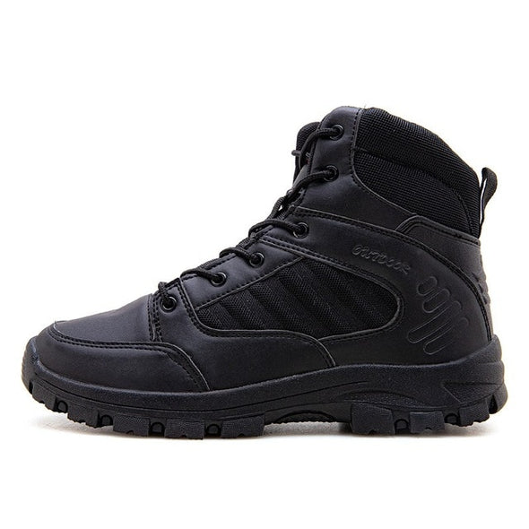 Men Desert Tactical Shoes Military Combat Boots