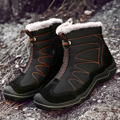 Men Plush Waterproof Slip Boots