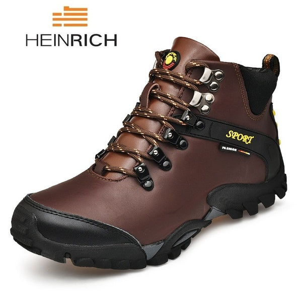 Fashion Brand Snow Boots Men Waterproof