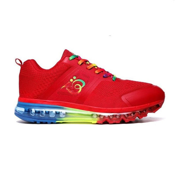 Colorful Running Shoes Men Air Cushion Sport Shoes