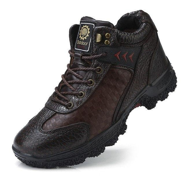 Waterproof Men Hiking Shoes Keep Warm  Camping Trekking Shoes