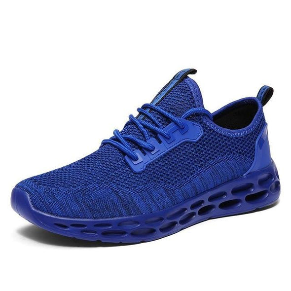 Fashion Weaving Mesh Breathable Light Soft Trainers Men Sneakers