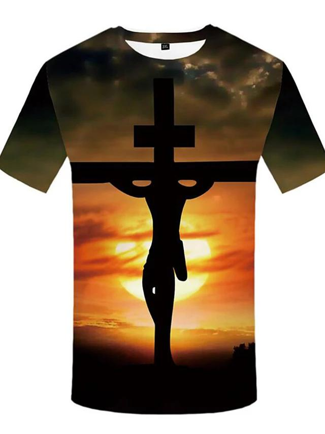Men's Plus Size Christian T-shirt - SlickWearApparel