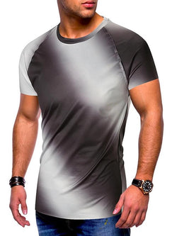 Men's 2 Tone Pattern T-shirt - SlickWearApparel