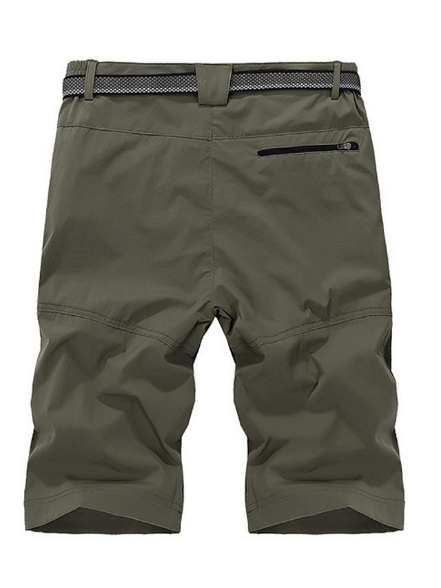 Men's Solid Colored Khaki Shorts - SlickWearApparel