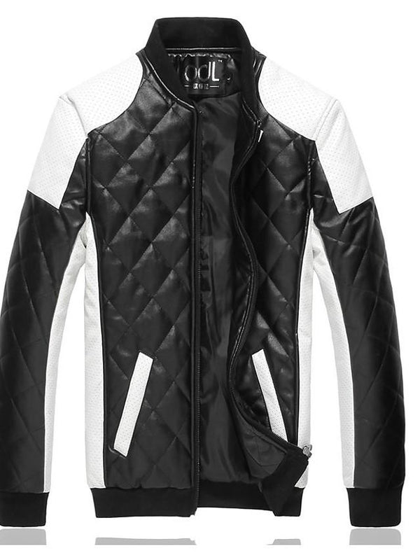 Men's Vintage Winter Fall Leather Jacket - SlickWearApparel