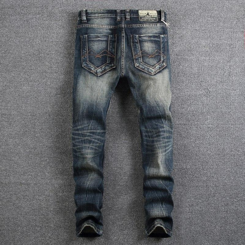 Retro Design Fashion Mens Jeans