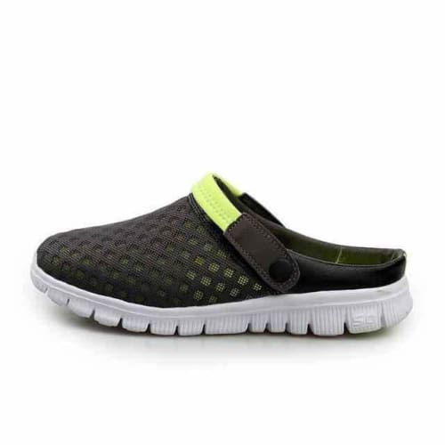 action mens athletic breathable sports running shoes