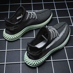Fashion Breathable Snake Style Sneakers - SlickWearApparel