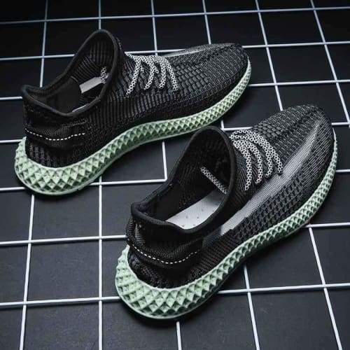 Fashion Breathable Snake Style Sneakers