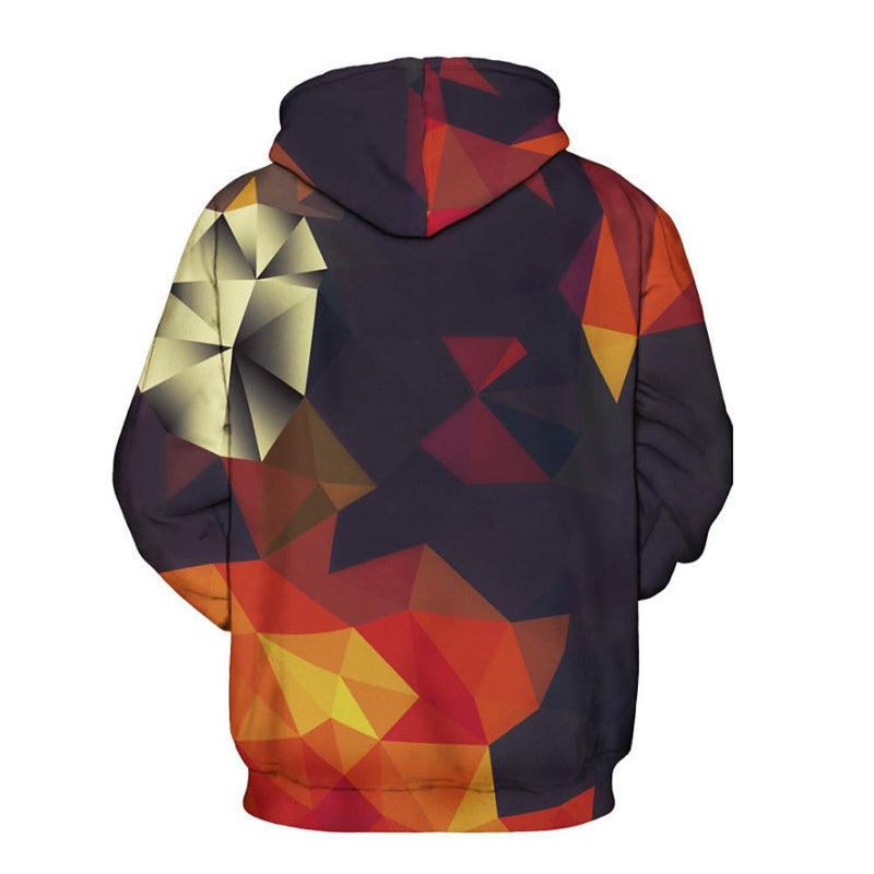 Men's Chinoiserie Long Sleeve Loose Hoodie - SlickWearApparel