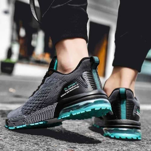 mens breathable sport casual sneakers shoes