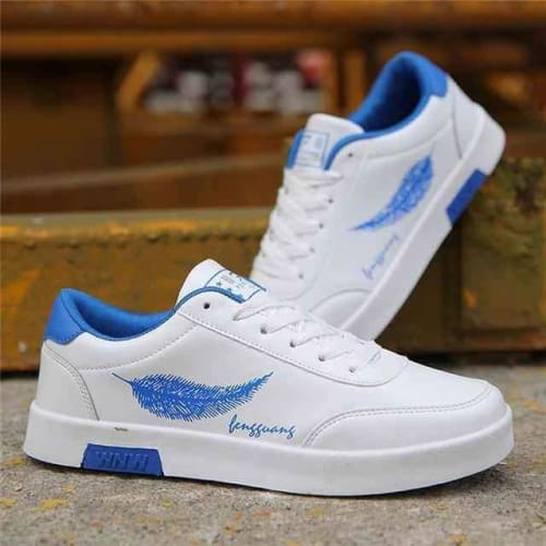 Mens Flat Lace-up Designer Sneakers - 3 / 7