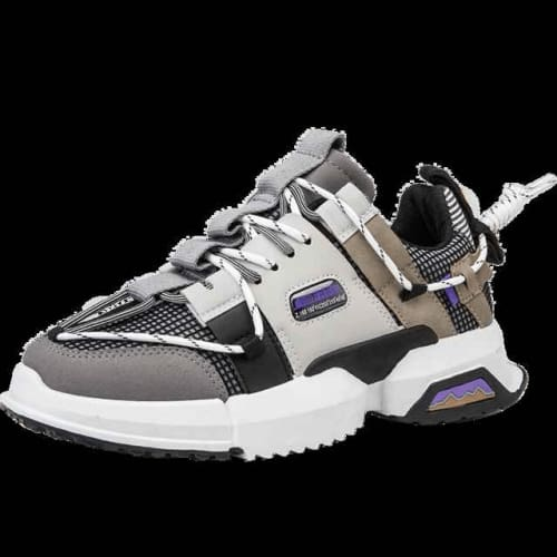 mens multicolor sneakers - SlickWearApparel