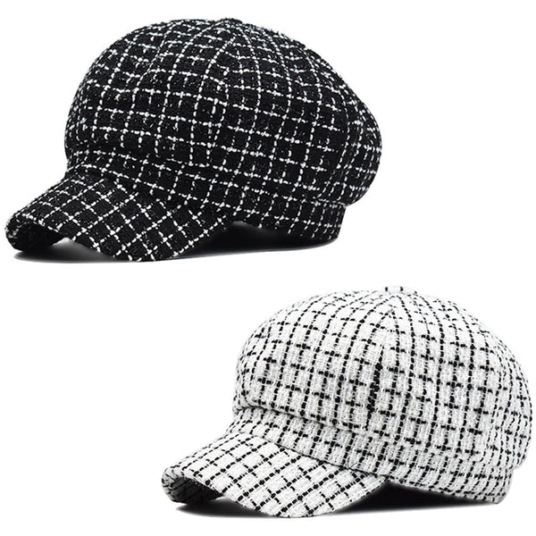 Women's Plaid Hats - SlickWearApparel