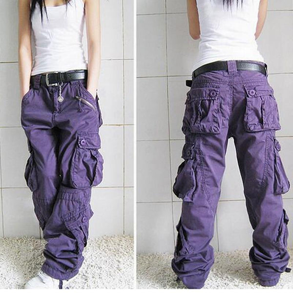 Cargo Fashion Hip Hop Loose Jeans