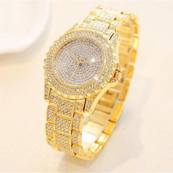 Women's Luxury Sparkling Diamond Elegant Wrist Watch-slickwearapparel