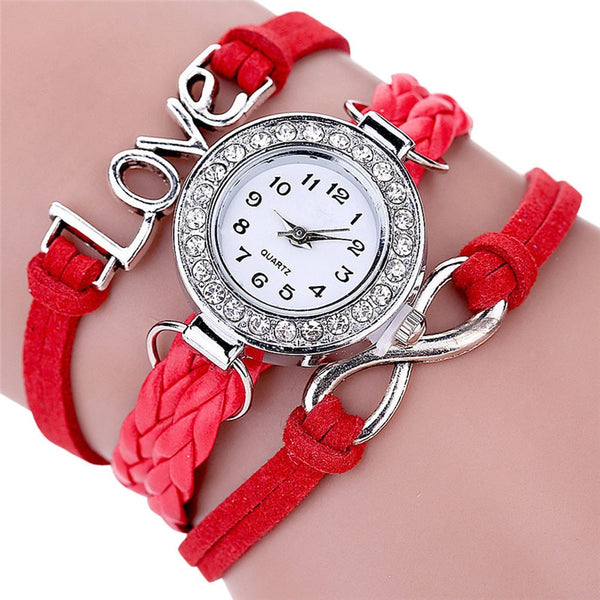 Women's Knitted Adjustable Strap Watches-slickwearapparel