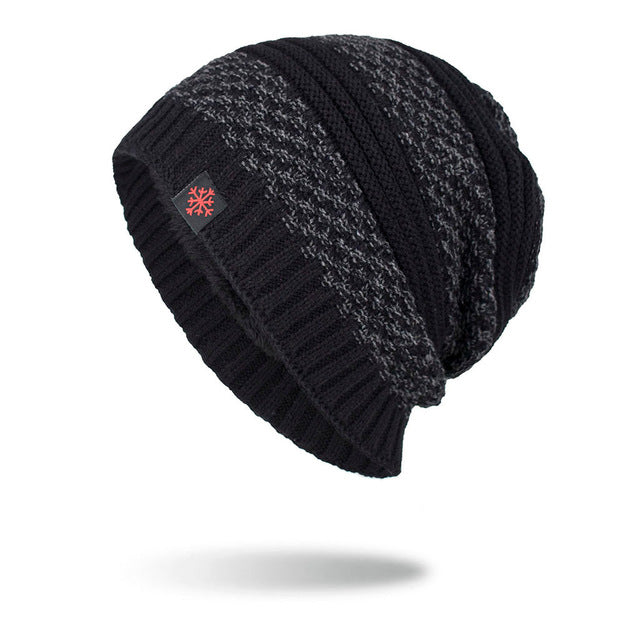 Knitted Wool Beanie Warm Stylish Hats - SlickWearApparel