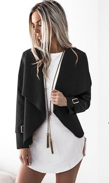 Fashion Women's Long Sleeve Cardigan Thin Jacket-slickwearapparel