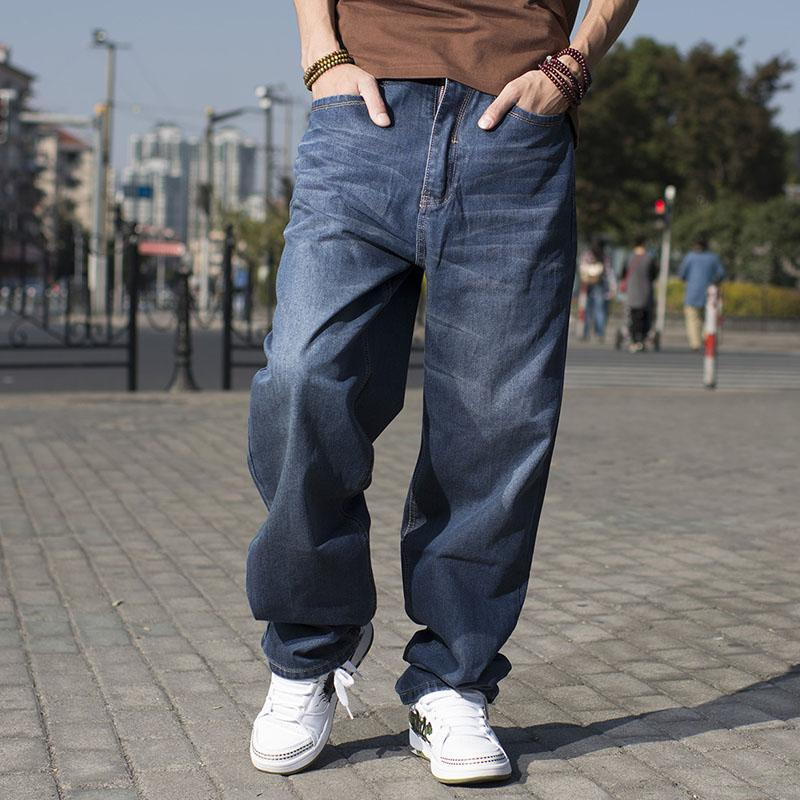 Hip-Hop Baggy Jeans For Men Wide Leg
