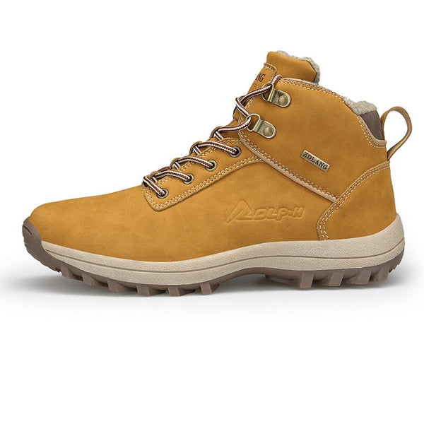 Yellow Brown Blue Casual Sneaker Boots-slickwearapparel