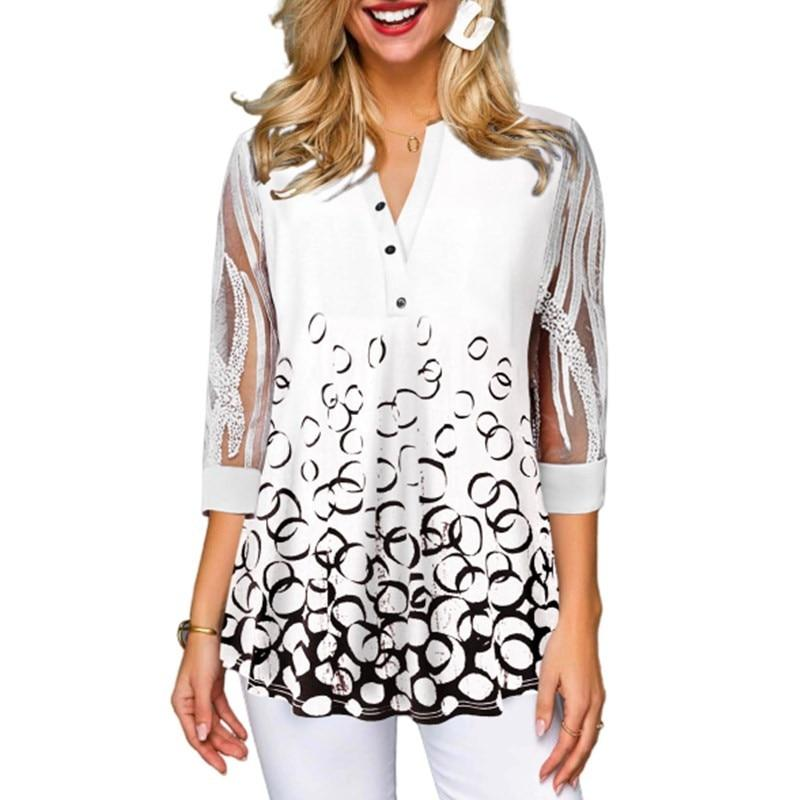 Elegant Office Lady Organza Top - SlickWearApparel
