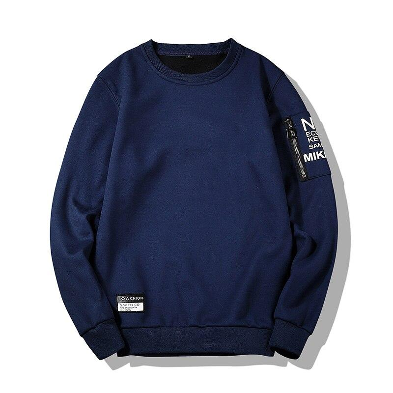 Men's Pullover Sweatshirts Slim Fit