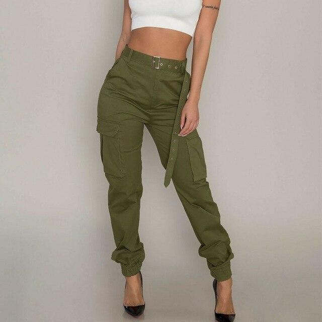 Cargo Trousers Long Sports Pants - SlickWearApparel