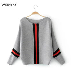 Weinsky Casual Style Women Knitted Sweater And Pullovers Full Sleeve Ladies Fashion Sweaters Female Winter And Autumn - SlickWearApparel