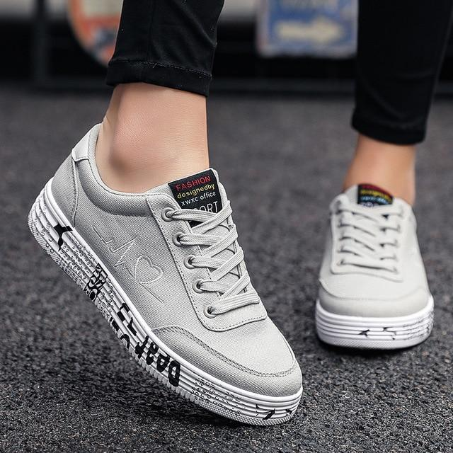 Ladies Lace-Up Stylish Fashionable Casual Sneakers - SlickWearApparel