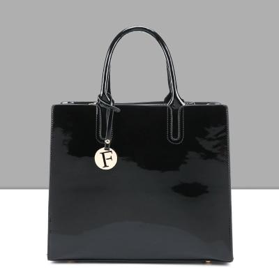 Solid Patent Leather Fashion Bags - SlickWearApparel