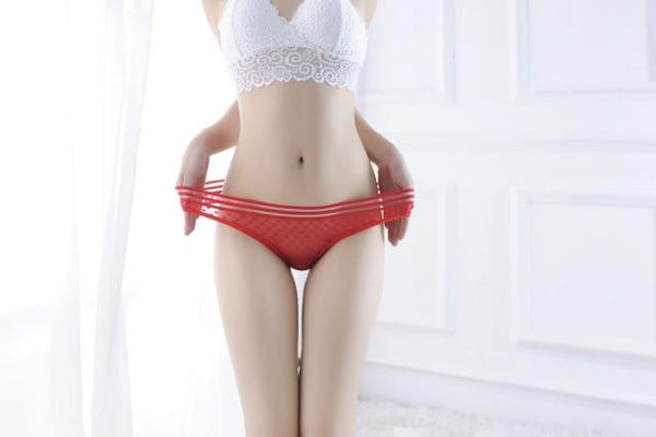 Fashion Temptation Beautiful Low Waist Cotton Panties - SlickWearApparel