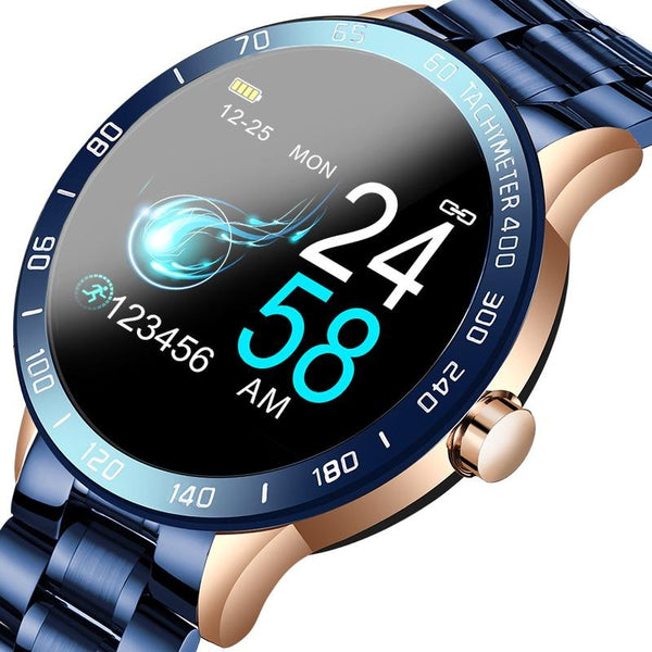 2020 Waterproof Round Smart Multi-Functional Watch - SlickWearApparel