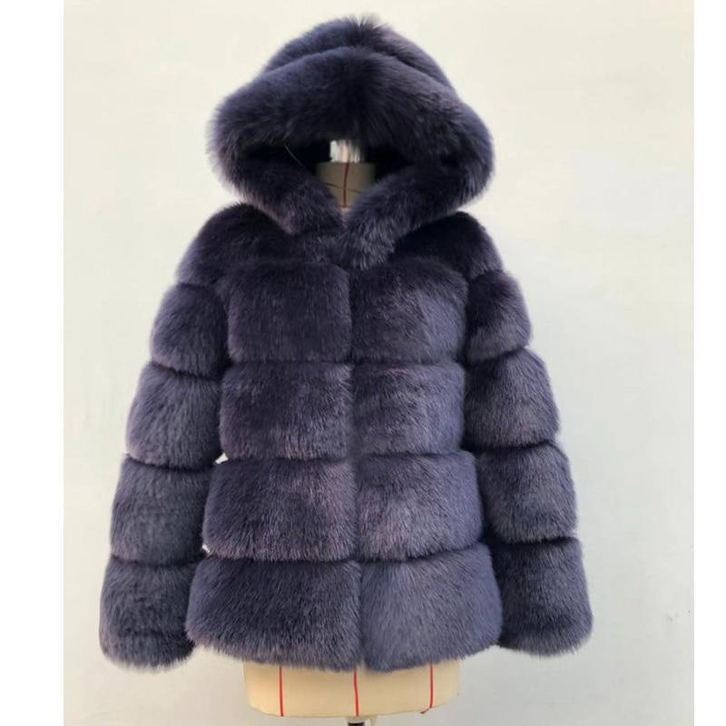 2020 Thick Hooded Long Sleeve Winter Coats - SlickWearApparel