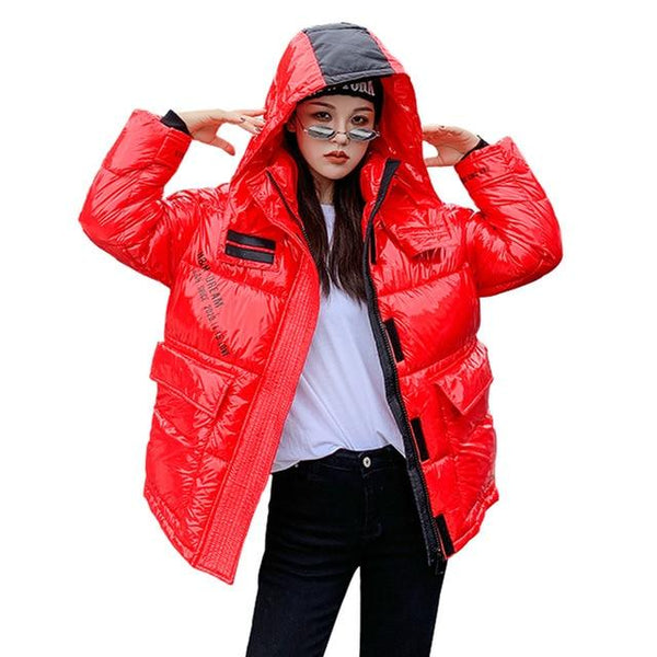 Women's Show Yourself Be Your Best Self Thick Winter Parka