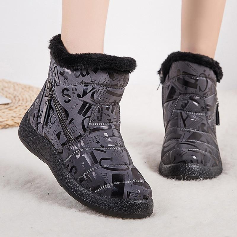 New Women's Designer Warm Winter Waterproof Boots - SlickWearApparel