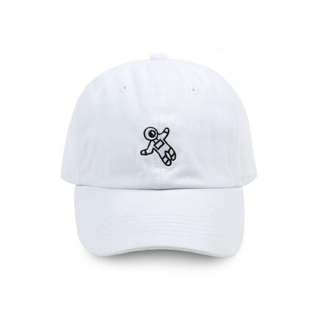 Astronaut Embroidery Baseball Cap - SlickWearApparel