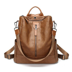 Genuine Leather Soft Ladies School Style Bags