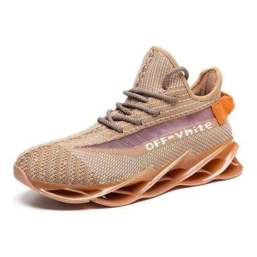 Running Stylish Lace-Up Walking Sneakers - G97Apricot / 11