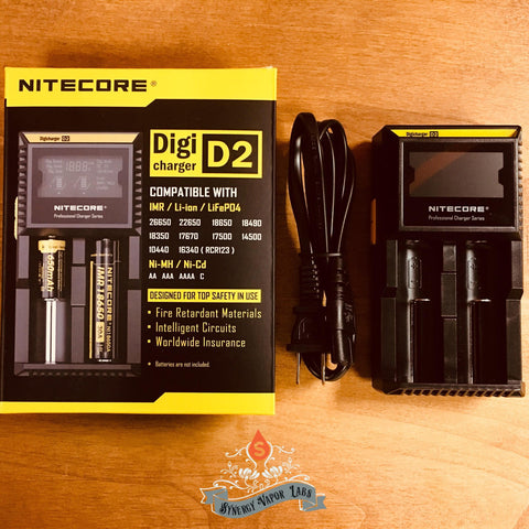 Nitecore - D2 18650 Charger