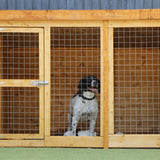 Wooden Dog Kennel 10 x 4