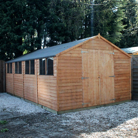 20 x 10 shed