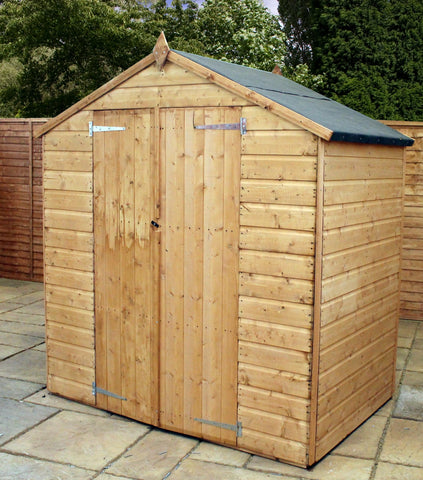 double door 4 x 6 shed