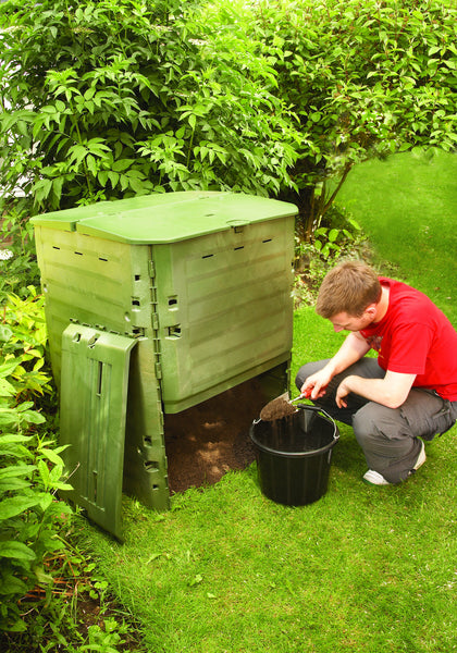 large plastic composter