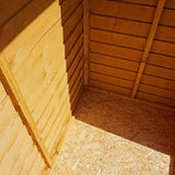6 x 4 Overlap Garden Shed - Windows / Windowless