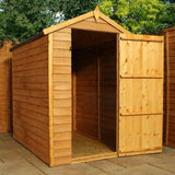 small windowless shed