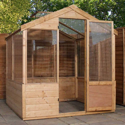 4 x 6 wooden greenhouse