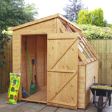 timber potting shed