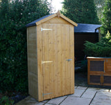mini wooden shed